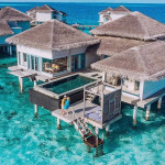 Sunset Overwater Residence With Pool: Raffles Maldives' Mini Mansion Above Water